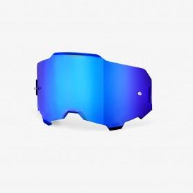Lente HD Hiper Specchio Maschera Armega 100% - Blu