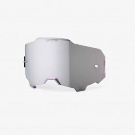 Lente HD Hiper Specchio Maschera Armega 100% - Argento