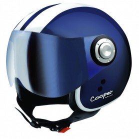 Casco Jet Osbe Cooper Dark Blue