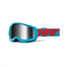 Maschera Cross 100% Strata 2 Summit - Lente Specchio