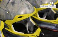 la calotta esterna di un casco moto